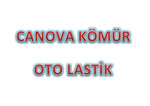 CANOVA KÖMÜR OTO LASTİK