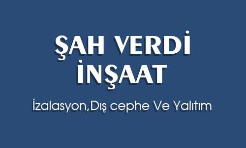 ŞAHVERDİ İNŞAAT YAPI SAN.LTD.ŞTİ