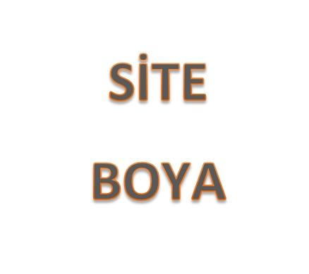 SİTE BOYA