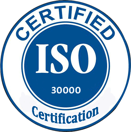 Tesisimiz ISO 30000 için sertifikalandırıldı.