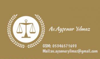 Ayşenur Yılmaz Hukuk Danışmanlık